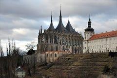 Old monastery , city Kutna Hora, Czech republic, Europe. Nice old monastery , city Kutna Hora, Czech republic, Europe stock photography