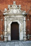 Old monastery door Stock Photography