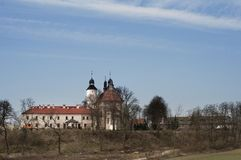 Old monastery in Hebdów Royalty Free Stock Images