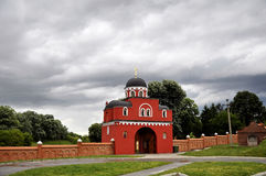 Old monastery Krushedol entrance gate. Voivodina, Srbia. Old monastery Krushedol entrance gate.Voivodina, Srbia stock images