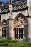 Old monastery in moorish style stock images