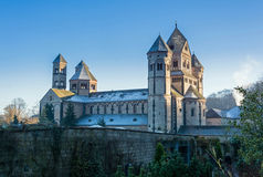 Old monastery in morning sunlight Royalty Free Stock Photography