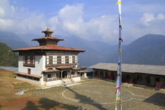 Old monastery near Mongar Stock Images