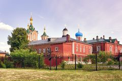 Old monastery in Russia. Old monastery in the town of Kolomna, Russia royalty free stock photos