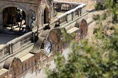 Old monastery Santuari de Lluc on Mallorca, Spain Royalty Free Stock Photos
