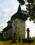 Old Monastery. In summer on clear sky stock photo