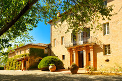 Old monastery in Tuscany Stock Images
