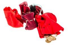 Old money bags Stock Photo