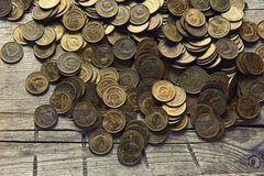 Old money of the Soviet union Royalty Free Stock Images