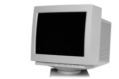 Old monitor Stock Photos