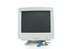 Old monitor Stock Photo