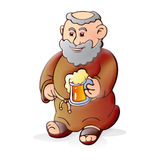 Old Monk Beer Royalty Free Stock Photos