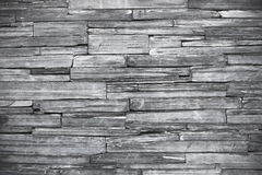 Old monochrome modern pattern of stone wall decorative surfaces Royalty Free Stock Photos