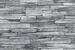 Old monochrome modern pattern of stone wall decorative surfaces Stock Image