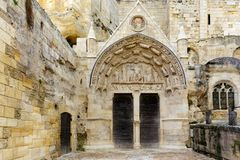 Free Old Monolithic Church Entrance Stock Image - 81852051