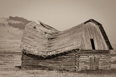Old Montana Barn Stock Images
