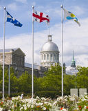 Old Montreal royalty free stock photos
