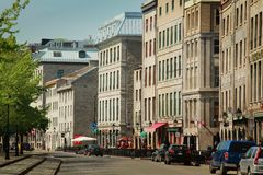 Old Montreal Royalty Free Stock Photo