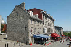 Old Montreal. Place Jacques-cartier in Old Montreal,Quebec,Canada Royalty Free Stock Image