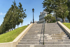 Old Montreal scene Royalty Free Stock Photo