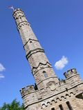 An old monument. An castle like monument in Stoner Creek from the war in 1813, the Royalty Free Stock Photography