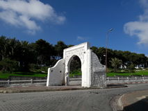 Old monument. In tangier city medina old monument Royalty Free Stock Photography