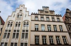 Old monumental facades Stock Photos