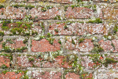 Old monumental wall. Detail of an old monumental wall in Wassenaar, The Netherlands Stock Images