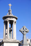 Old monuments in the Recoleta Cemetery Royalty Free Stock Photography