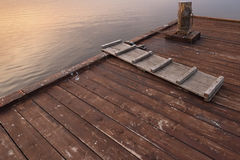 Old moored berth Royalty Free Stock Photography