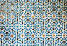 Old moorish mosaic in Seville, Spain Stock Photography