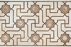 Moorish stone carving Stock Images