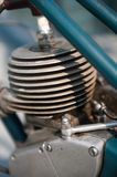 Old moped engine Stock Photography