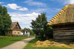 The old Moravian village Royalty Free Stock Photography