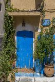 Old moroccan door Stock Photo