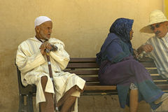 Old Moroccan man in Marrakesh, Morocco Stock Image