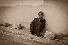Old Moroccan man Stock Photo