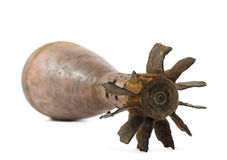 Old mortar shell Stock Image