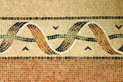 Old mosaic. Old time mosaic design Stock Photos