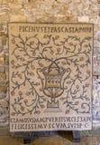 Euphrasian Basilica in Porec, Istria, Croatia. Old Mosaic in the Euphrasian Basilica, UNESCO World Heritage, Porec, Istria, Croatia, Europe royalty free stock photos