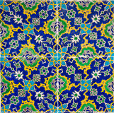 Old mosaic. Pattern eastern, ethnic background Royalty Free Stock Photo
