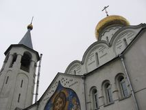 Old Moscow church. Old orthodox church in Moscow Royalty Free Stock Photos