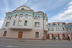 Old Moscow house in Taganka area. Russia Stock Photography