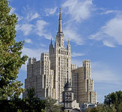 Old Moscow skyscraper 1 Royalty Free Stock Photography