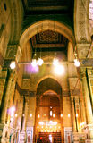 Old mosque in cairo Royalty Free Stock Images