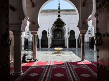 Morocco Mosque Fes stock images