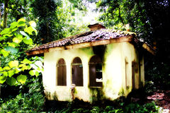 Old Mosque. An old mosque in forest Royalty Free Stock Photography
