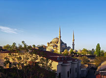 Old mosque in Istanbul Stock Photography