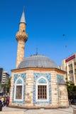 Old mosque on Konak square, Izmir, Turkey Royalty Free Stock Photo
