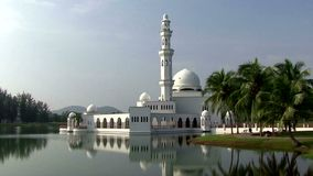 Old mosque in Malaysia stock video footage